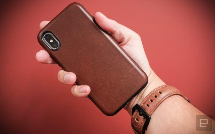 Nomad 要让 iPhone X 的防摔壳也能充满皮革气息(动手玩)