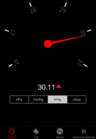 Pressur is a simple barometer app