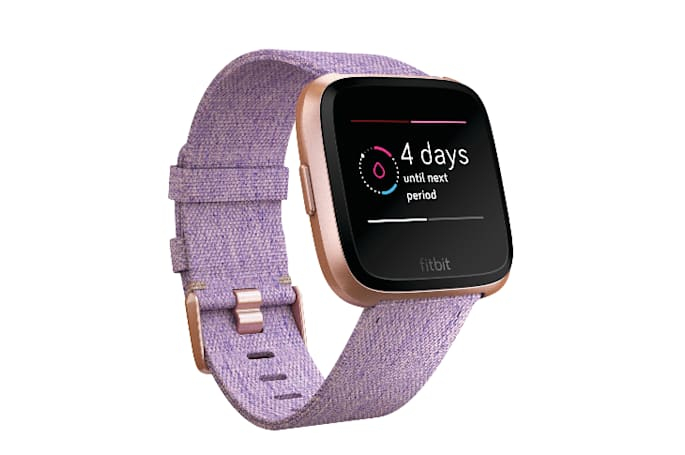 Fitbit activates female health tracking on the Versa and Ionic