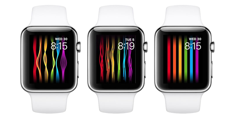 Apple's Pride-themed watch face is blocked in Russia