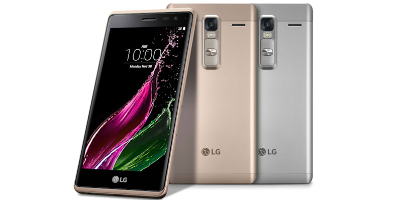 LG dresses up a mid-range smartphone in an all-metal suit