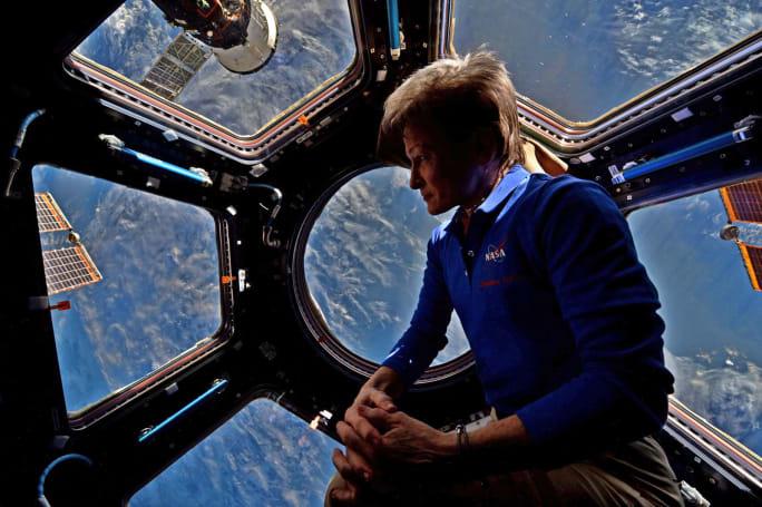 America's longest-orbiting female astronaut has safely returned home