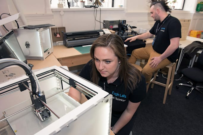 Barclays' 'MakerSpaces' offer 3D printing to local businesses
