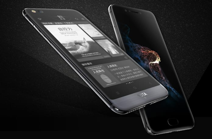 Dual-screen Yota3 is official with a sharper E Ink screen