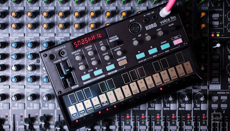 Relive the '80s with the Korg Volca FM synthesizer