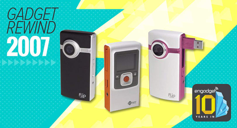 Gadget Rewind 2007: Flip Video Ultra