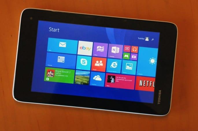 超殺 US$120!就是 Toshiba 的新款七吋 Windows 平板