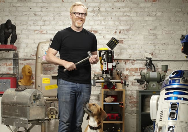 Tour Mythbuster Adam Savage's collection of collections with Street View