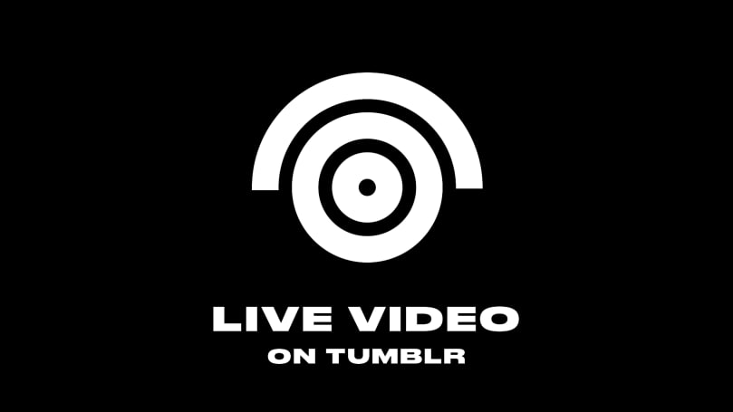Tumblr officially joins the live video party