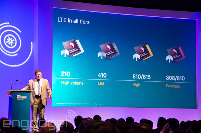 With Qualcomm's Snapdragon 210, even the cheapest smartphones will get LTE