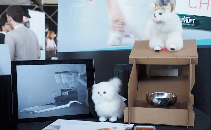CatFi Box is the Google Cardboard of smart cat feeders