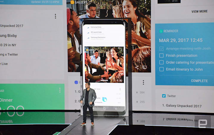 Bixby's voice features aren't finished, but US users can test them