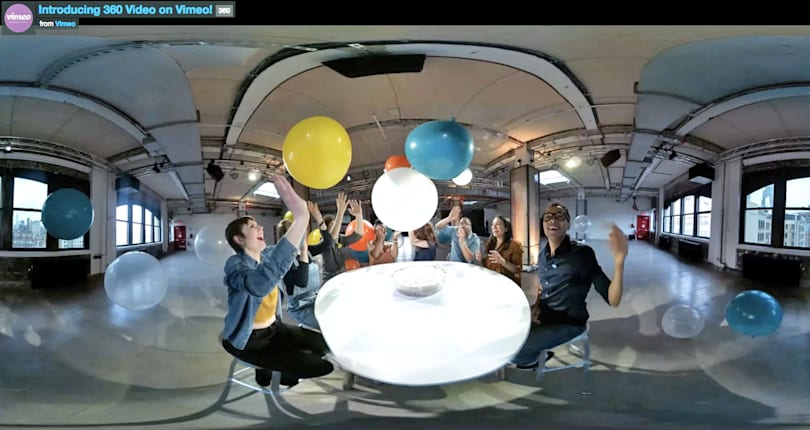 Vimeo now supports 360-degree video