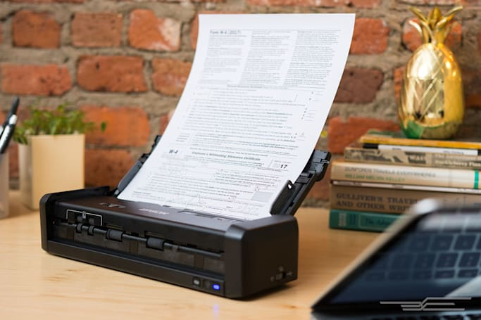 The best portable document scanner