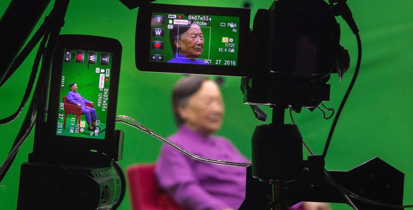 南京大屠杀幸存者的故事会以数码的形式长存于世
