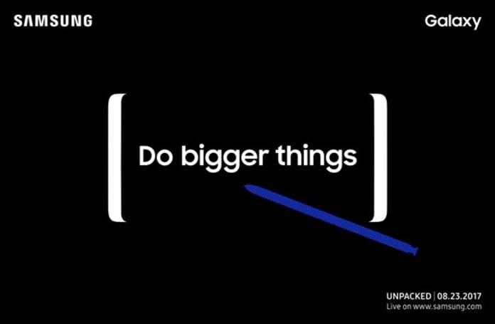 主打「極致多工」!Galaxy Note 8 確認將於 8 月 23 日正式推出