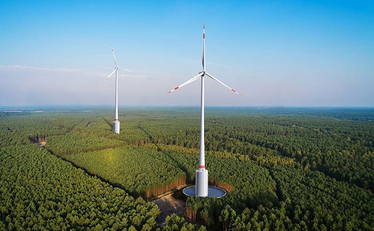 Six innovative wind turbine designs