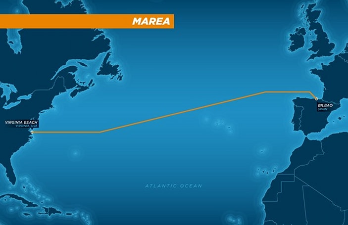Facebook and Microsoft are building a huge trans-Atlantic data cable
