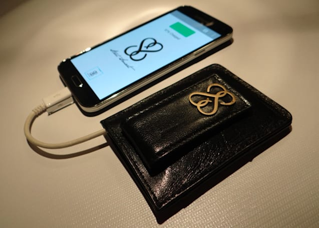 Smart wallet puts an end to lost cash and dead phones