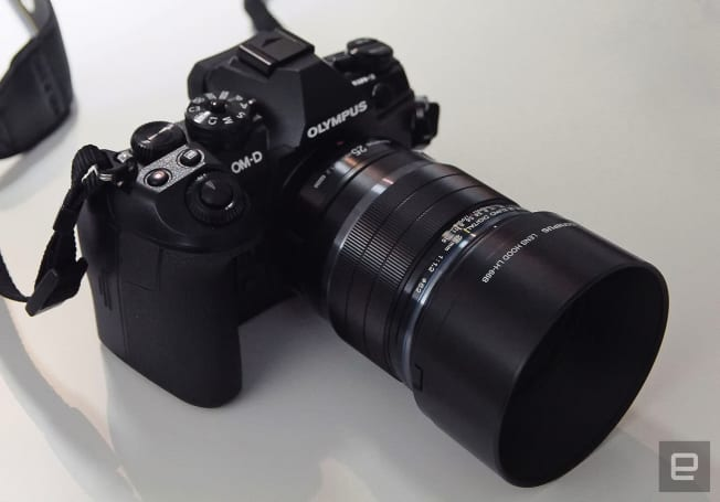A closer look at Olympus' OMD-EM II flagship mirrorless camera