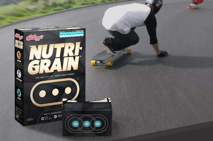 VR is the prize at the bottom of your cereal box