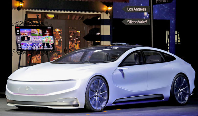 Tesla rival LeEco building $1.8 billion EV factory in China