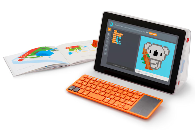 Kano combines its coding kits for a DIY 'laptop'