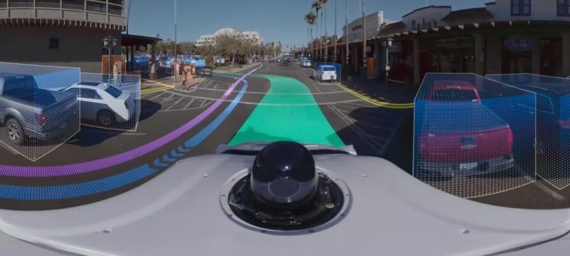 Waymo 拍攝 360 度影片讓你了解自駕車如何「看路」