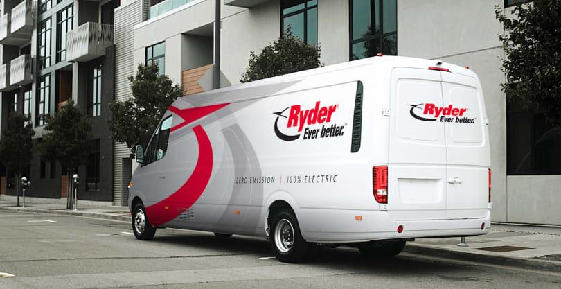 Ryder is adding 125 electric vans to its rental fleet