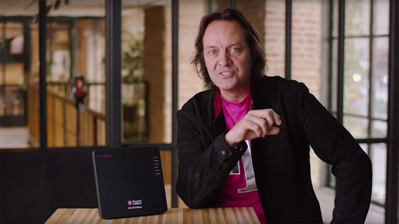 T-Mobile wants to put a mini LTE tower in your home