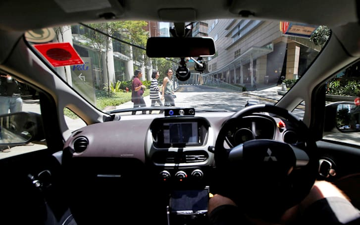 The first self-driving taxis are cruising around Singapore