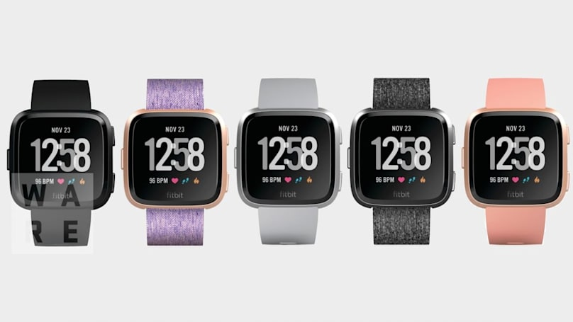 Fitbit's cheaper, smaller smartwatch leaks out