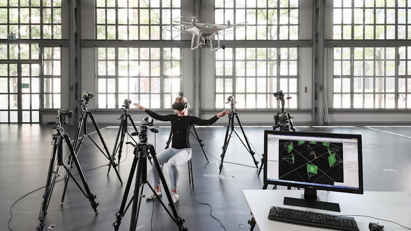 Using your body to control a drone is more effective than a joystick