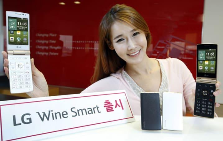 LG 在韓推出 Wine Smart:為年長者準備的 Android 摺疊機