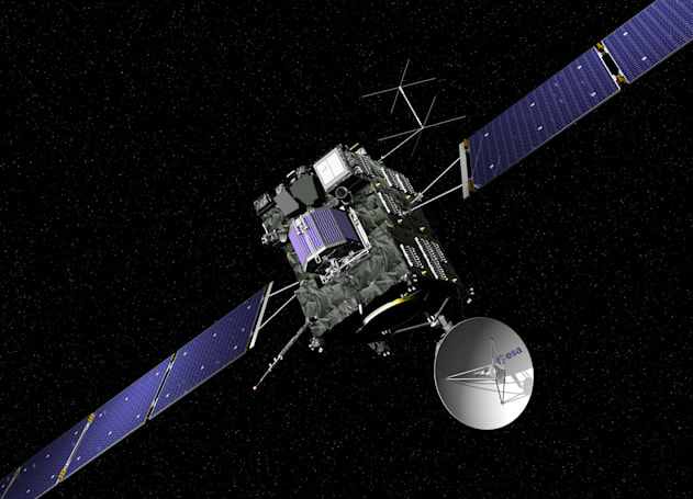 Rosetta probe's love affair with a comet ended predictably