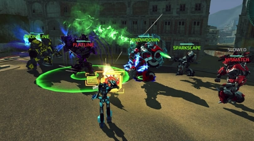 Transformers Universe demos its MOTA gameplay