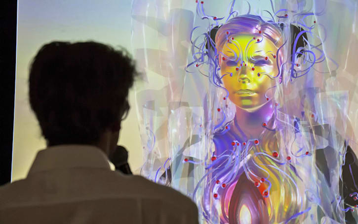 Bjork avatar appears in London via Icelandic mocap