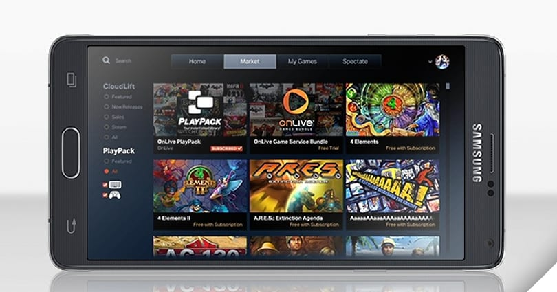 Galaxy Note 4 owners get three months free of OnLive gaming
