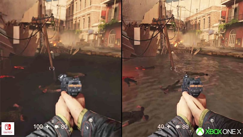 Here's how 'Wolfenstein II' manages to run on Nintendo Switch