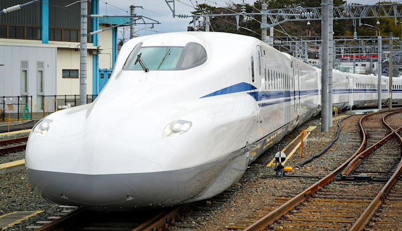 Japan's next-gen bullet train is sleeker and tech-friendly