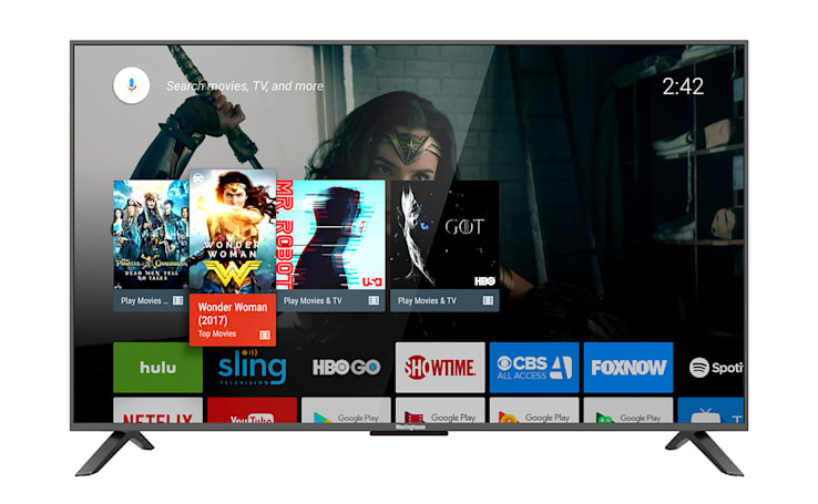 Westinghouse's 43-inch 4K Android TV set costs $350