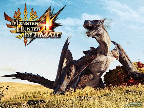 Capcom plans to sell 3.9 million more copies of Monster Hunter 4 Ultimate