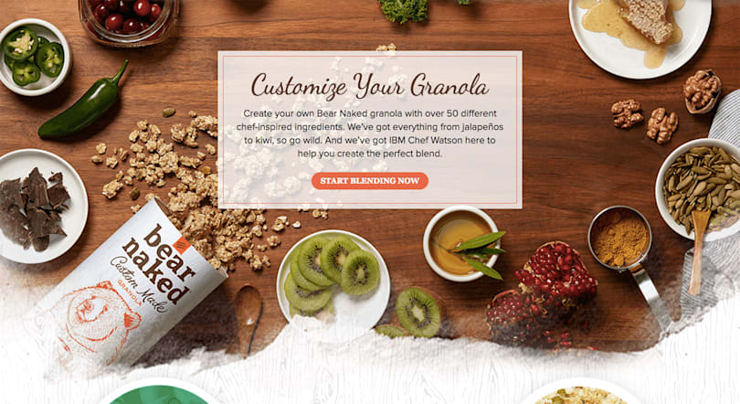 IBM Watson can customize your canned granola