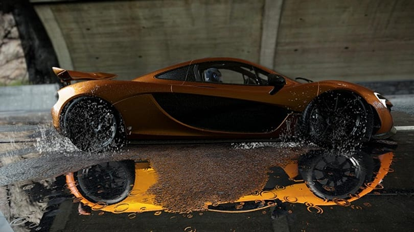 Drive through this Project Cars trailer