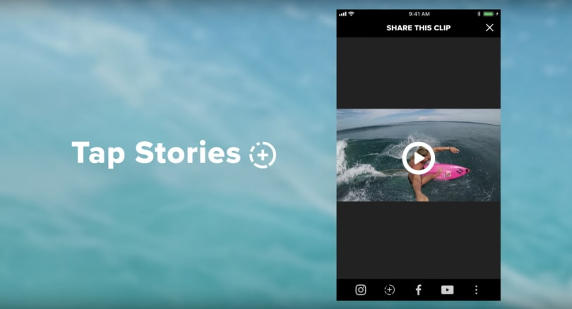 GoPro makes it easier to share footage as Instagram Stories