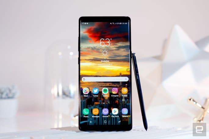 三星:Galaxy Note 8 预售量为系列最高