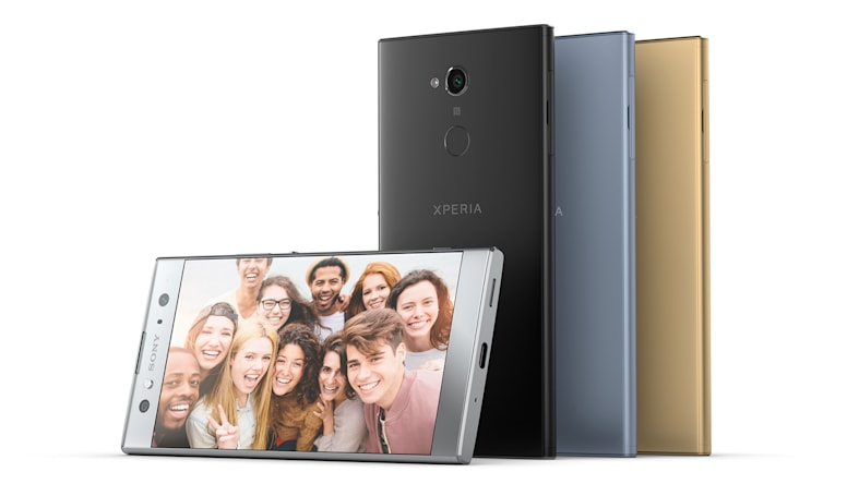 Sony's mid-range Xperia XA2 and XA2 Ultra are still all about the cameras