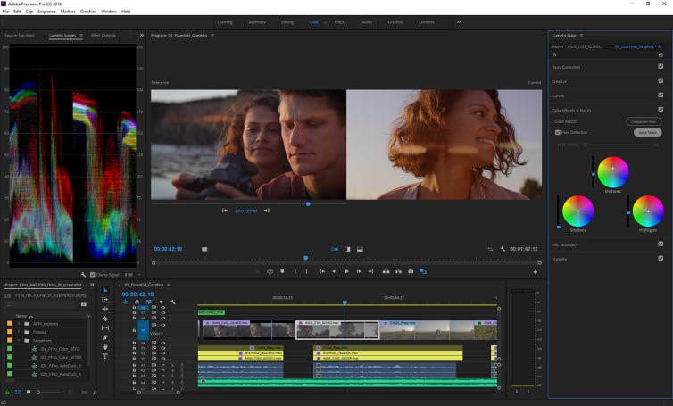 Adobe Premiere Pro 將以 AI 自動調整畫面顏色及背景音樂