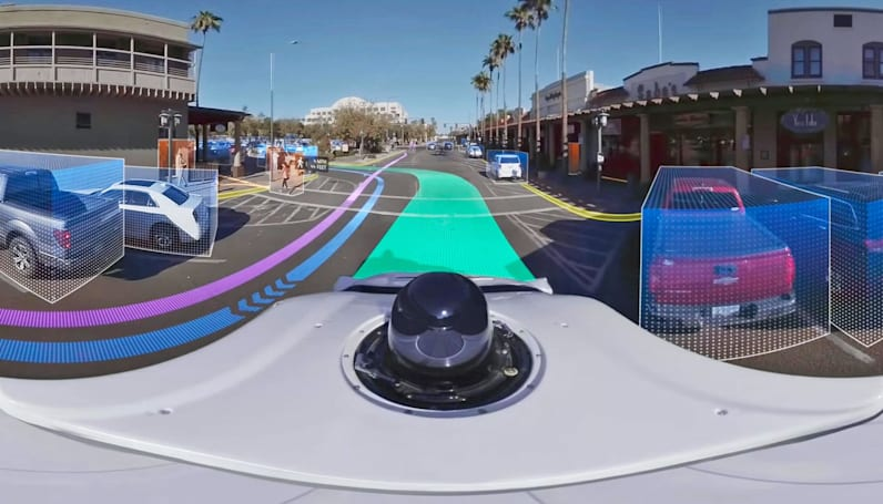 Waymo's 360-degree demo ride shows what self-driving cars 'see'