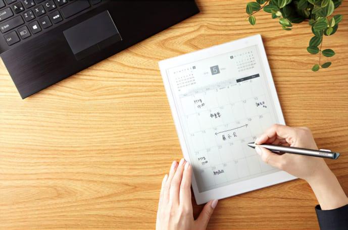索尼的 Digital Paper E Ink 平板变小了